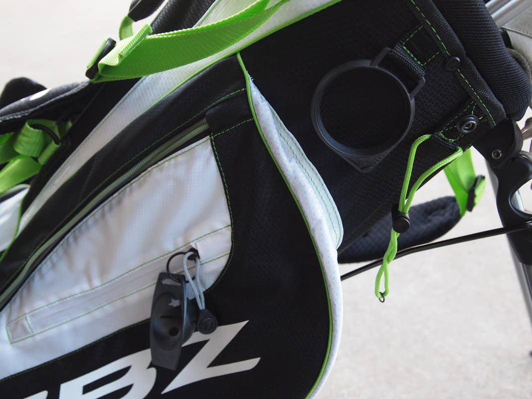 Quick Hits Le Stand Low Angle For Easy Club Removal Great Pocket Arrangement 6 Way Top Rbz Logoed No Putter Specific Slot
