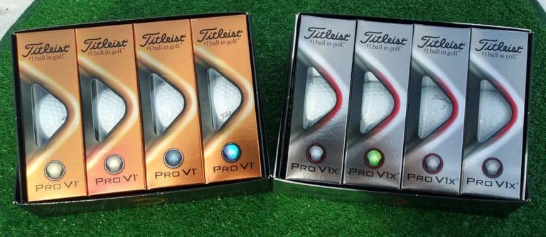Titleist 2021 Pro V1 and Pro V1x Ball