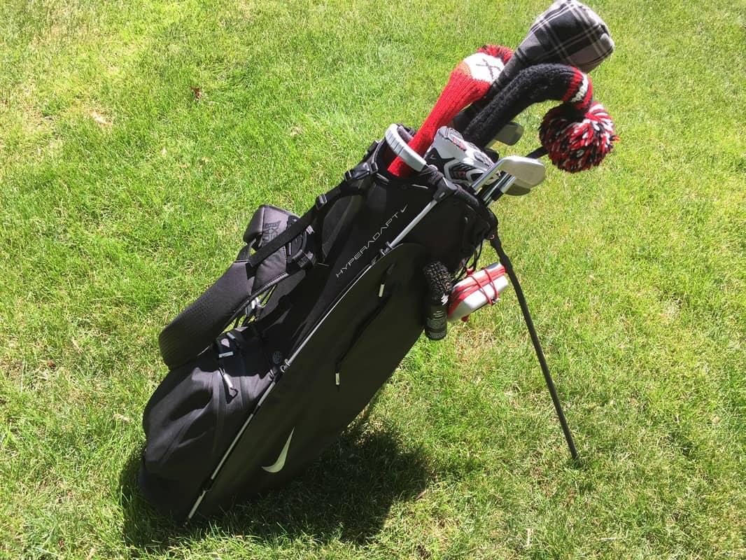 Nike HyperAdapt Stand Bag - IGolfReviews on cobra cart golf bags, wilson cart golf bags, alabama cart golf bags, quiet cart golf bags, leather cart golf bags, lightweight cart golf bags,