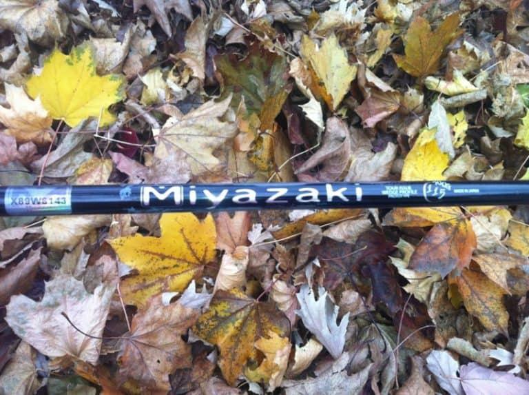 Miyazaki Iron and Wedge Shafts