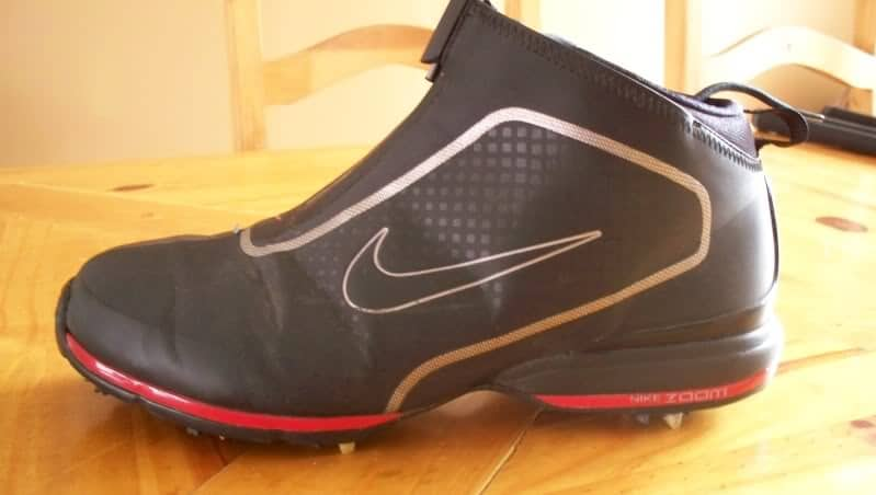 nike high top golf shoes