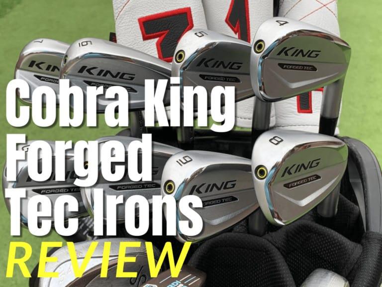Cobra King Tec Irons Review Thumbnail