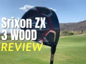 Srixon ZX 3 wood review thumbnail