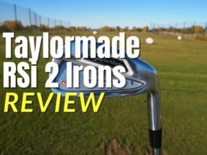 Taylormade RSi 2 Irons