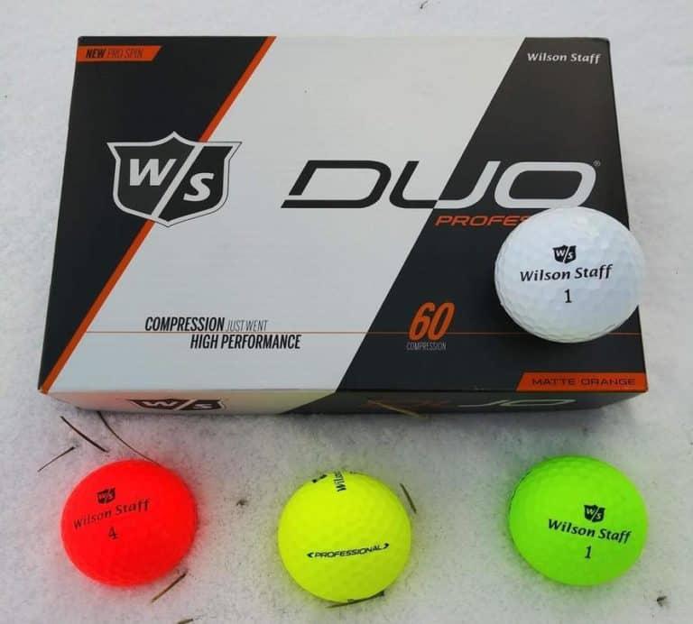 Wilson Staff Duo Professional Golf Balls