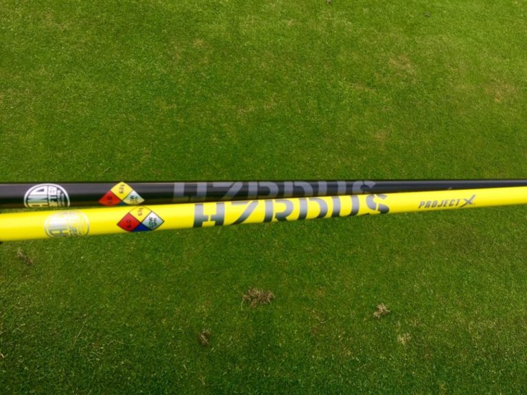 PROJECT X HZRDUS BLACK AND YELLOW SHAFTS