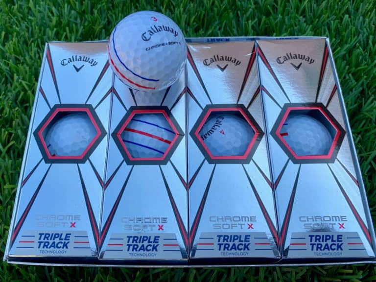 Callaway Chrome Soft X Triple Track Golf Ball
