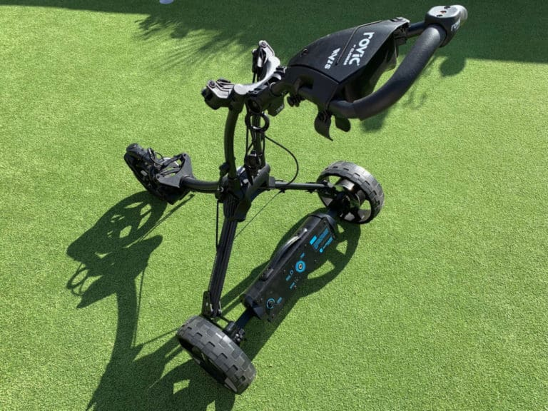 Alphard Golf's Club Booster eWheels