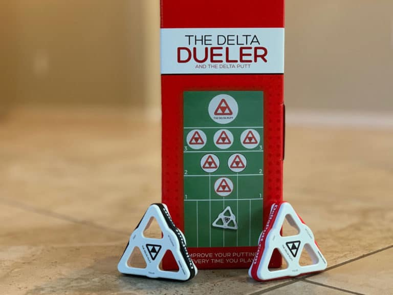DELTA PUTT AND DUELER PUTTING TRAINING AID