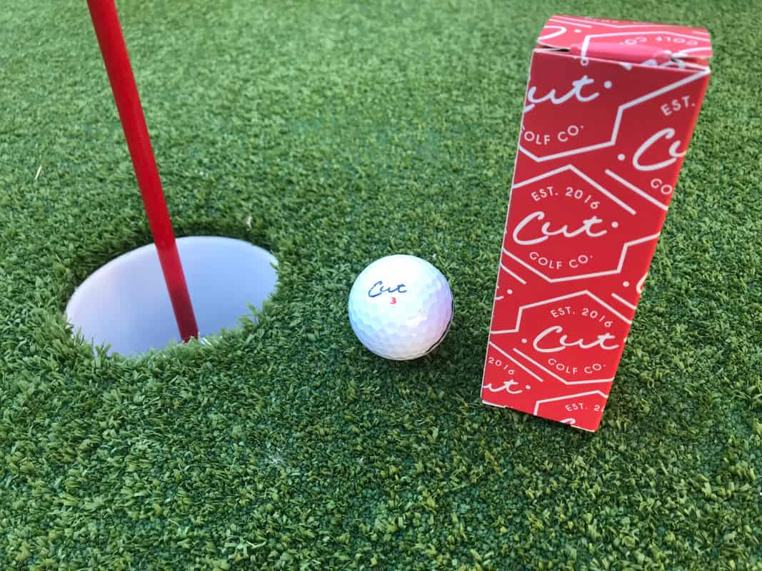 e01401b9801 Cut Golf Balls are slightly different than other tour balls in their  aesthetics. The white paint they use is a brighter white than typically  associated with ...