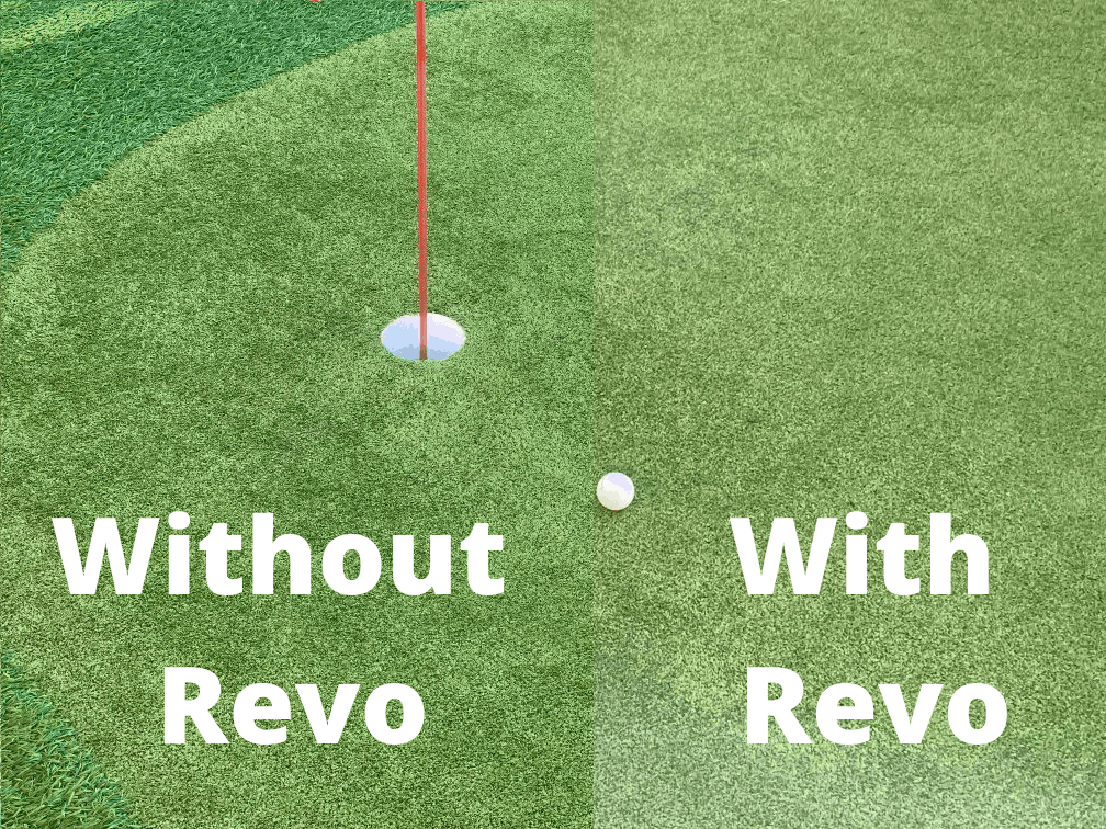 With and without Revo Sunglasses