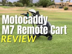 Motocaddy M7 Remote Cart-min