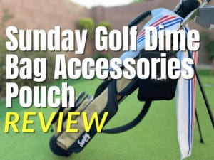 Sunday Golf Dime Bag Accessories Pouch